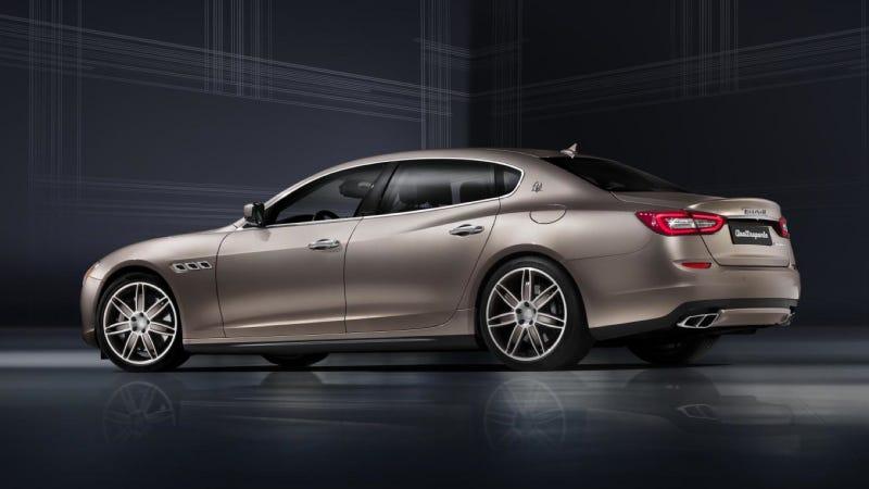 The Maserati Quattroporte Ermenegildo Zegna Limited Edition Is Fancy