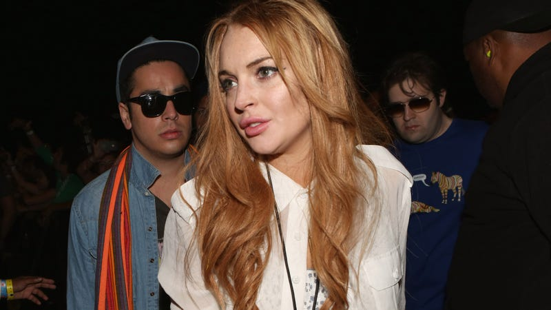 Whoops, Says Lindsay Lohan—My Mom Totally WASN'T on Cocaine and It's Actually My DAD I Hate
