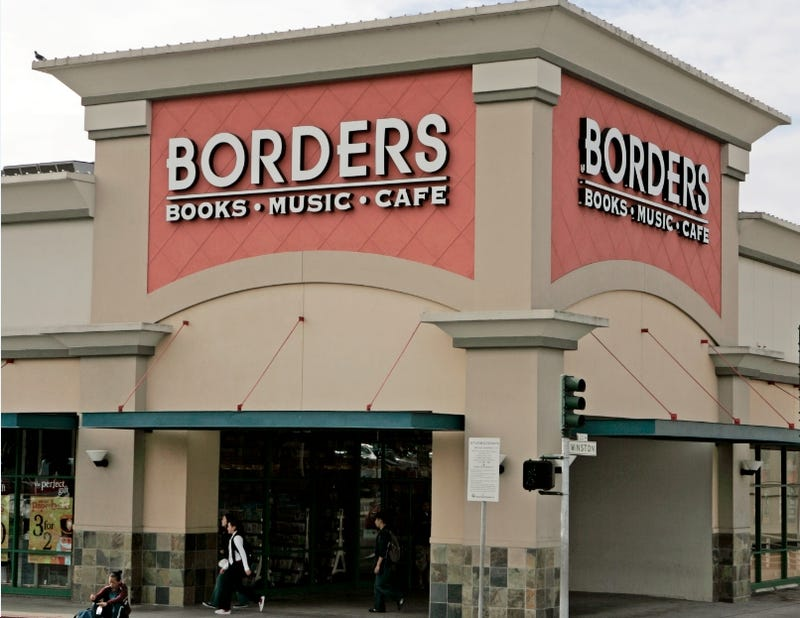 Borders Gets a Loan For Some Reason