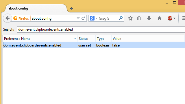 Enable Copy-Paste in Web Pages That Disallow It with a Firefox Tweak