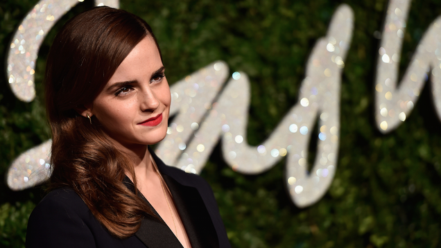 ​Cosmo, Mr. Foundation Name Emma Watson Masculist Celebrity of 2014