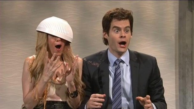 Bill Hader's Face Is The Best Thing About Saturday Night Live