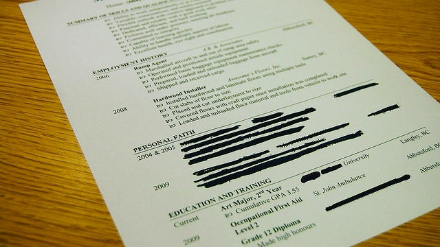 Pepper Your Resume with a Company's Cultural Keywords to Help Beat the Screeners