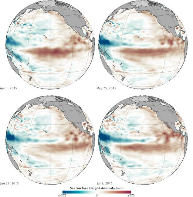 All Signs Indicate a New Monster El Niño Is Coming