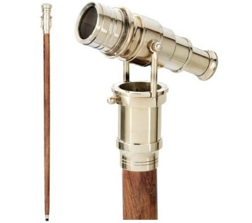 Walking Stick with Built-in Telescope: for the Victorian Perv in You
