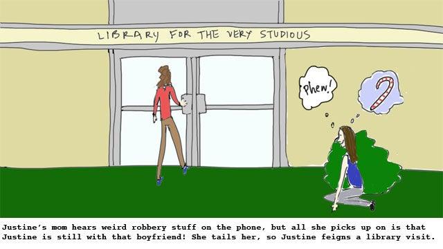 Lifetime Movie Cartoons: My Daughter's Secret