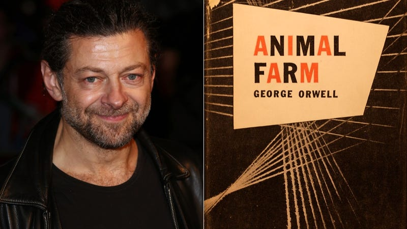 Move Over, Madagascar; Andy Serkis to Adapt Orwell's Animal Farm As Family-Friendly Barnyard Romp