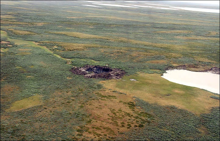 New pictures and video show interior detail of the Siberian hole