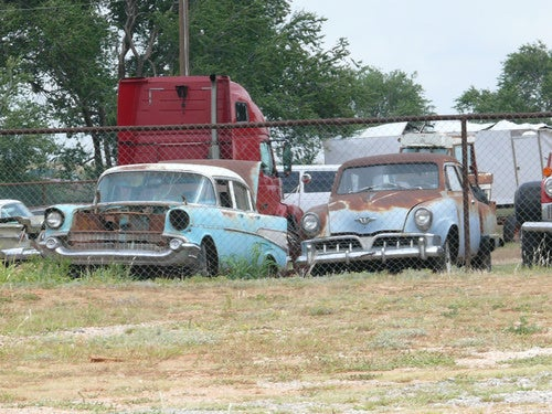 The Old Cars of Route 66 Gallery