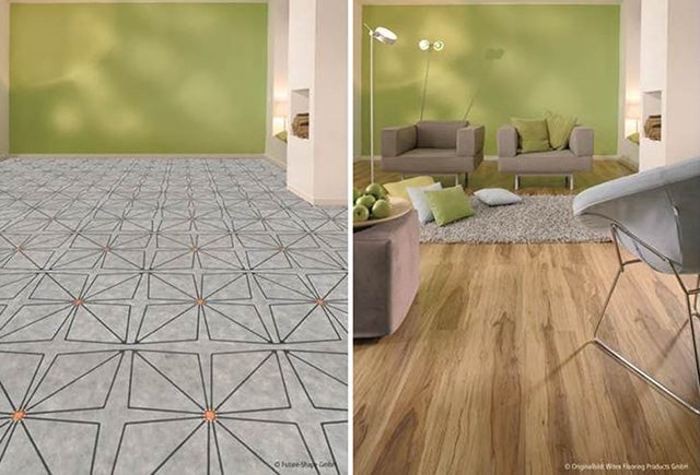 Electronic Floor Sensors Turn Whole Rooms Into Immersive Touchscreens