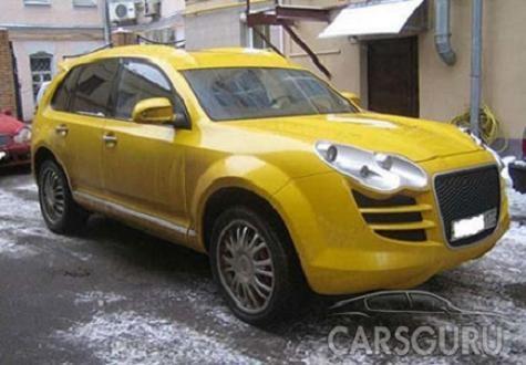 Wild Russian SUV Has Identity Crisis