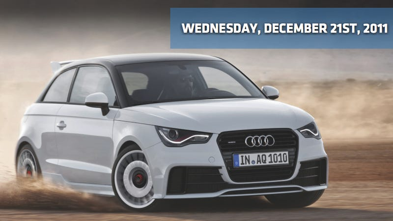 Audi A1 quattro, Tesla Model S gets $49,900 price tag, and Honda not upping U.S. production by 40%