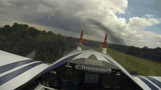 Red Bull Air Race Pilot's Eye View