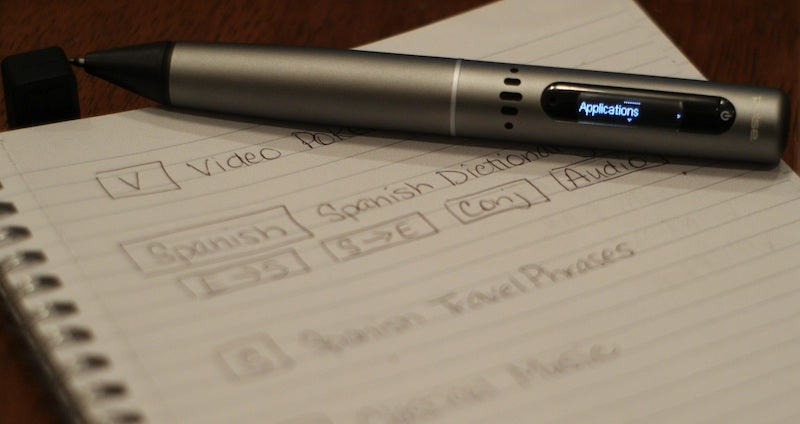 LiveScribe Smartpen Links Your Scribbles with Audio Notes