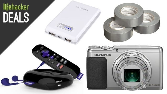 A Fantastic Carry-On, Cheap Duct Tape, $150 Chromebook, Roku 2