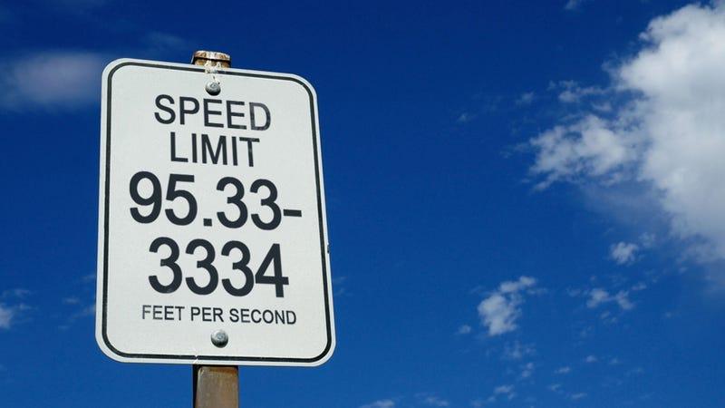 Screw miles per hour, we need feet per second
