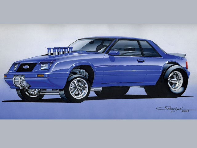 Fox body gasser render.