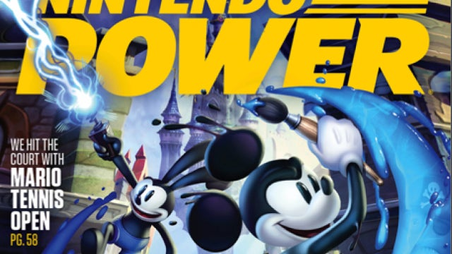 3DS Epic Mickey Confirmed by Nintendo Power's Cover