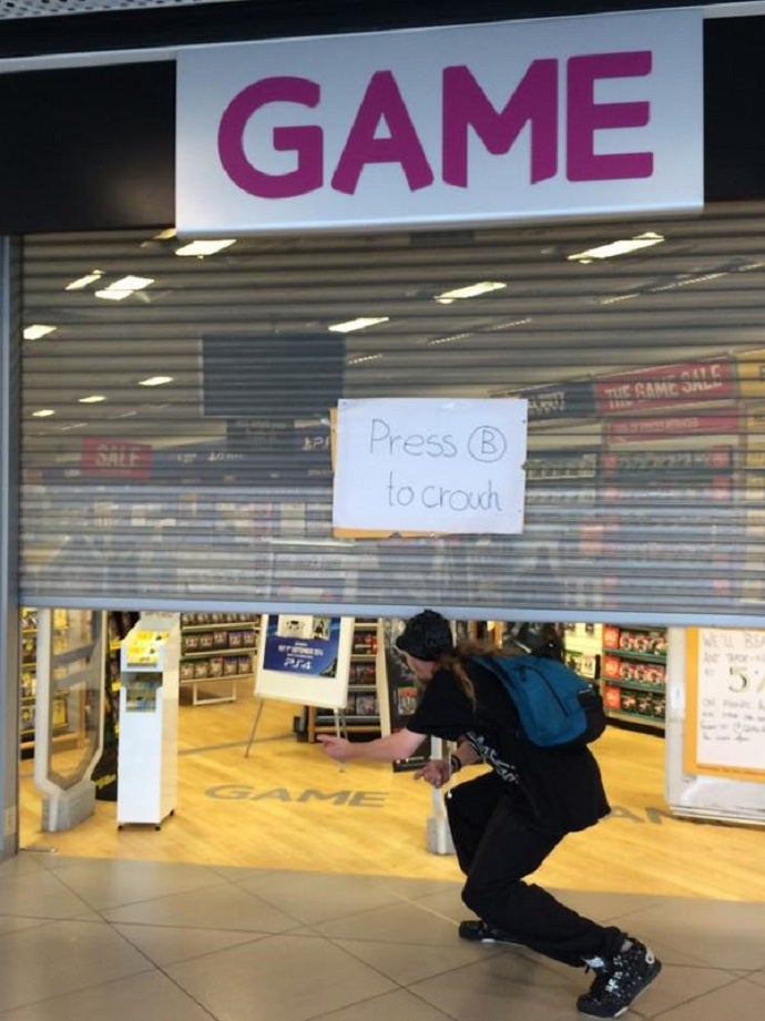 Turning A Video Game Store's Entrance Into An Adventure