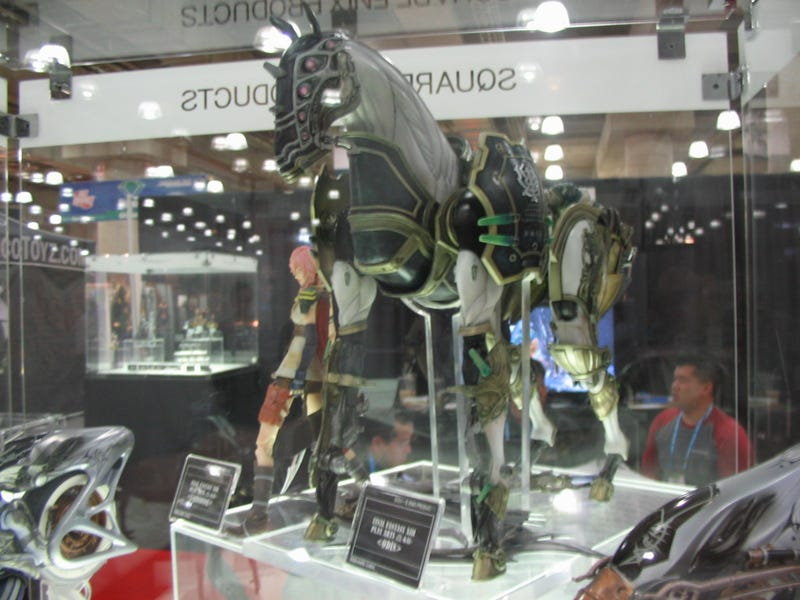 Final Fantasy XIII, Chrono Trigger and Kingdom Hearts: The Statues