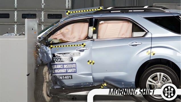 Two GM SUVs Safer In Crash Test Than Honda  Toyota  And Kia