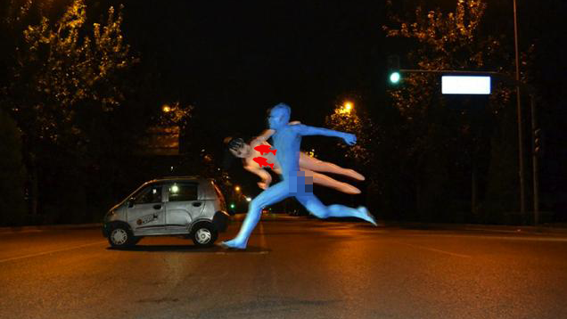 It's Like Avatar, But with a Naked Runner and a Sex Doll