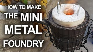 Make a Mini Foundry for Cheap That Can Melt Soda Cans