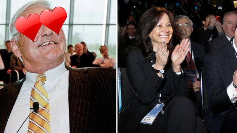 Bob Lutz Describes GM's New Female CEO Exactly As Bob Lutz Would