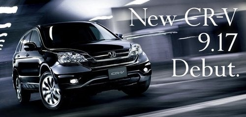 2010 Honda CR-V Puts A New Fascia Forward