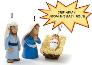Baby Jesus Getting Jacked? Fix It With LoJack!