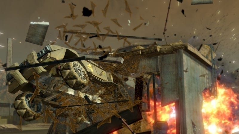 Playing As Insurgents: Volition Reflects On Red Faction Guerilla