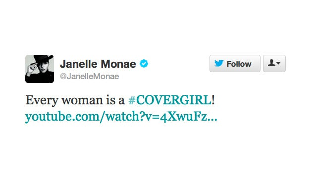 Janelle Monáe Is the New Face of CoverGirl
