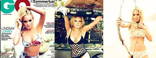 The Curious Case Of Lindsay Lohan's Belly Button