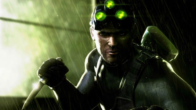If You Like Splinter Cell, Thank The Guy Who Played Sam Fisher