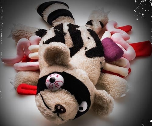 Traumatize Your Kids With Road Kill Plush Toys