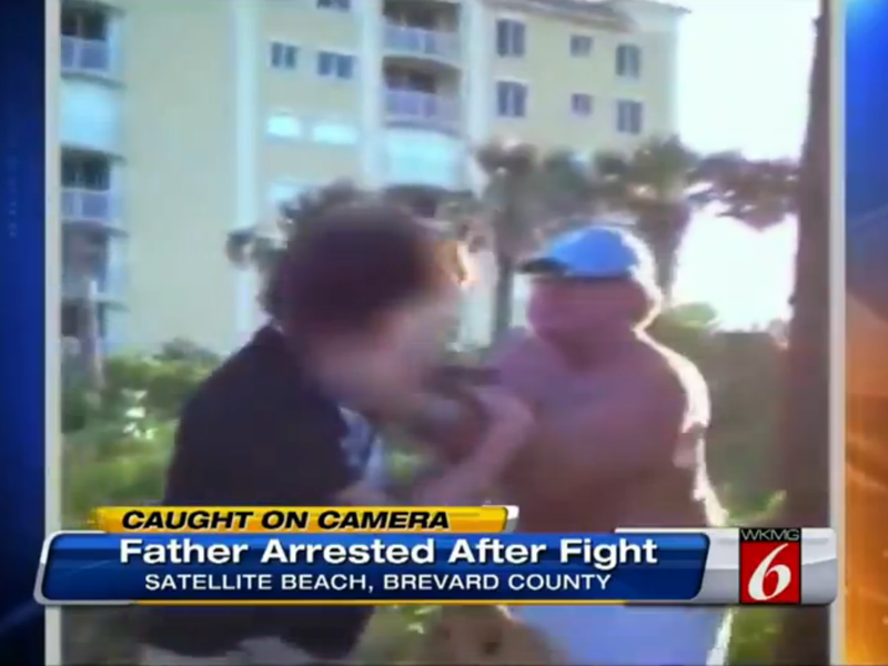 Florida Man Goads Kids Into Fight, Joins in When His Son Starts Losing