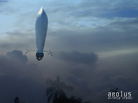 Aeolus Airship Concept Can Stay Aloft for Two Weeks
