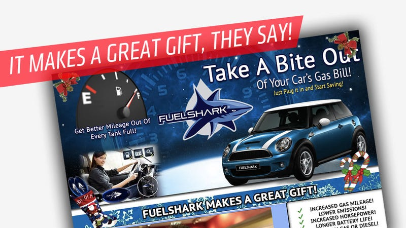 The Fuelshark Won't Save You Gas Because It Runs On Bullshit