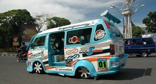 Mad Microbus From Indonesia, Now In Motion
