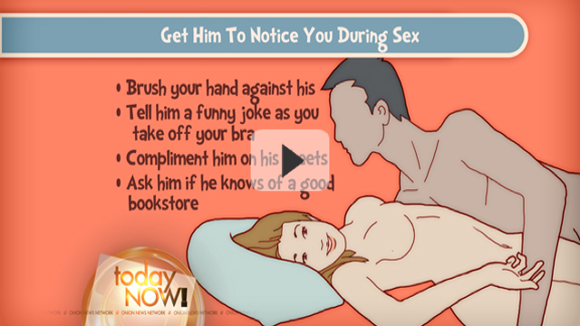 This Week's Top Web Comedy Video: How to Get a Guy to Notice You While You're Having Sex with Him