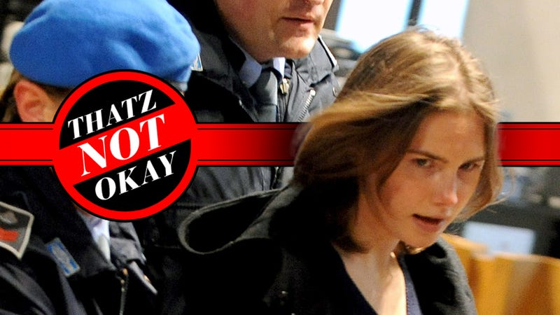 Thatz Not Okay: Am I Allowed to Hit On Amanda Knox?