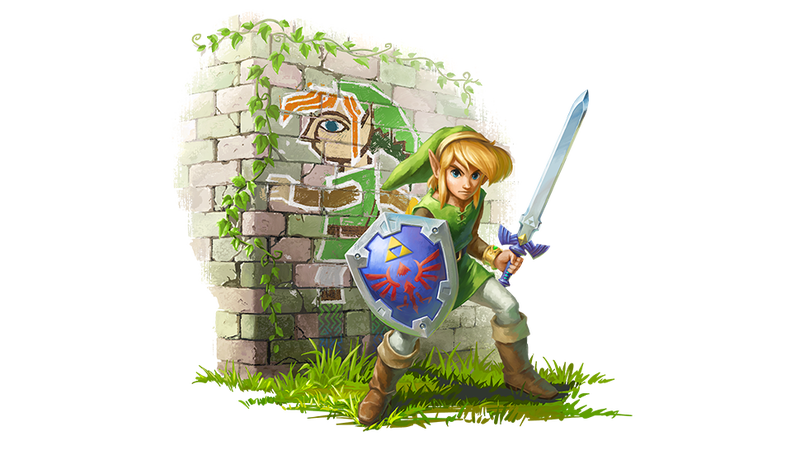 Zelda: A Link Between Worlds' Art Has Gotten...Goofier