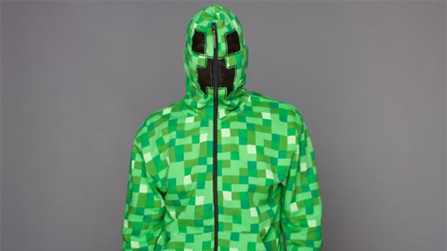 Minecraft Creeper Hoodie About as Terrifying As An Actual Creeper