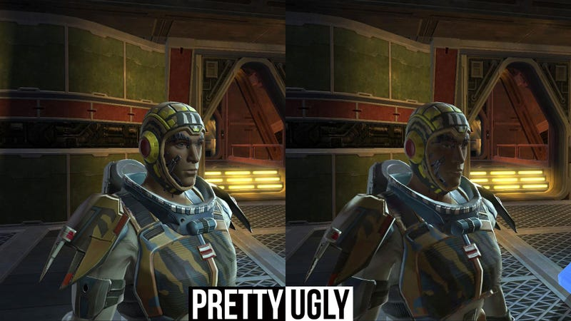 Why Most Of Star Wars: The Old Republic's Hi-Res Graphics Disappeared at Launch