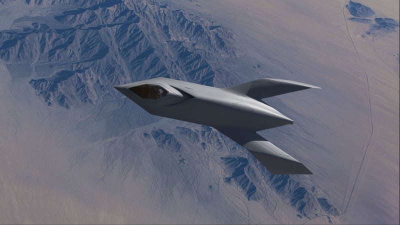 ​Boeing's Bird of Prey: A Prototype Jet Worthy of the Klingon Empire