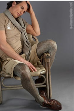 Men pantyhose acceptance