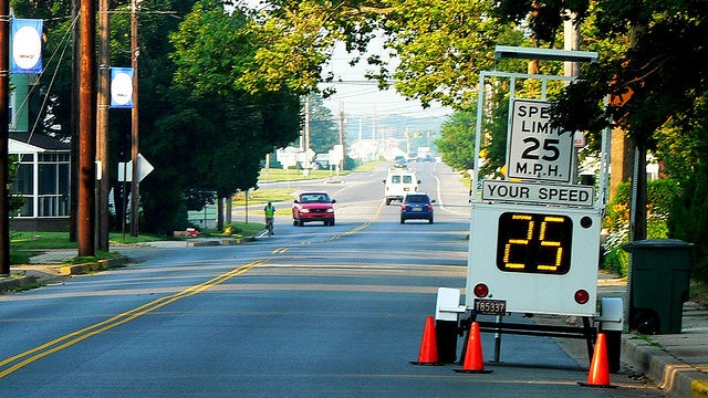 The ten cleverest ways to get drivers to slow down