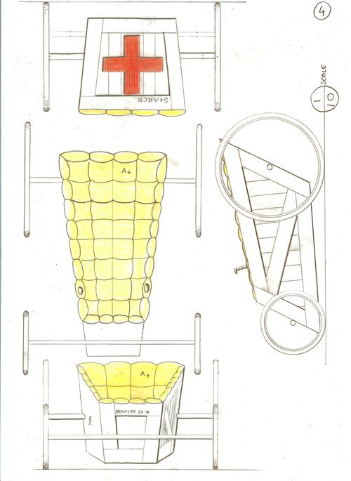 Philippe Starck Gravity Racer