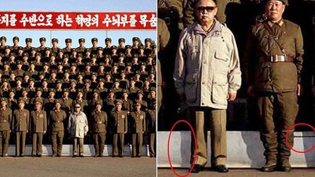 A Brief History of North Korean Photoshops