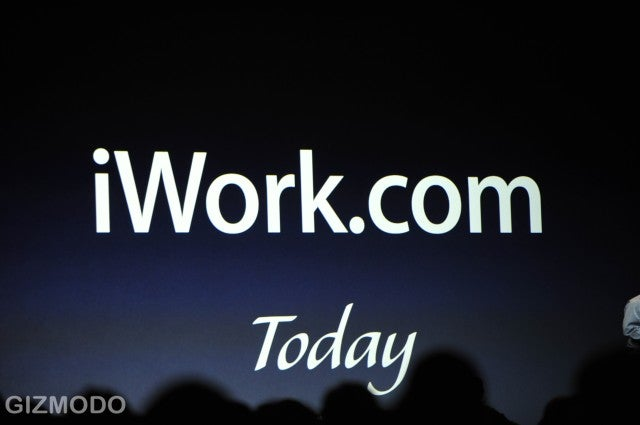 iWork '09 Includes iWork.com, Costs $79 + Subscription